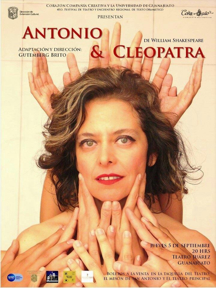 """La obra """"Antonio y Cleopatra"""" se presenta en Guanajuato"""